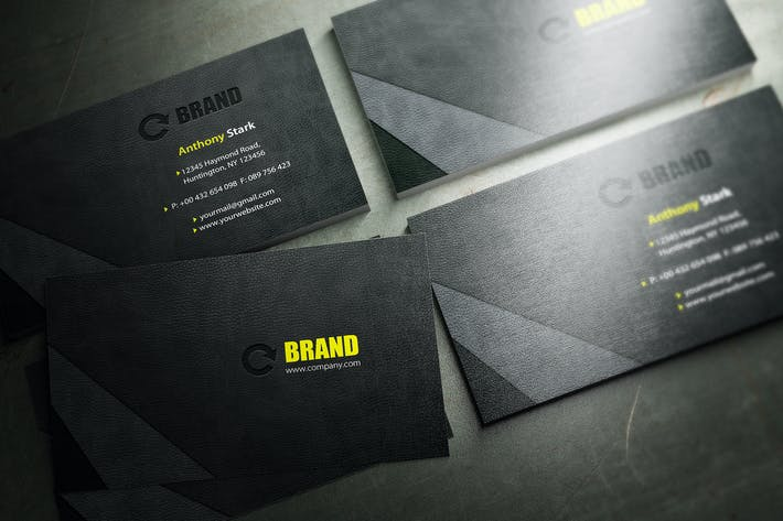 Thumbnail for Leather Business Card Design