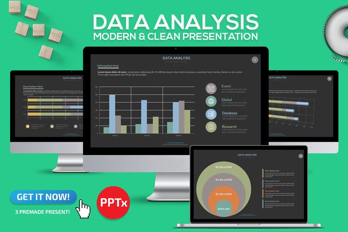 Thumbnail for Data Analysis Powerpoint