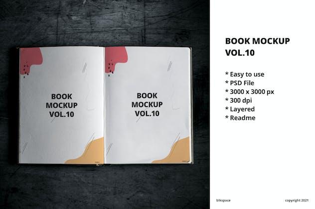 Book Mockup Vol.10