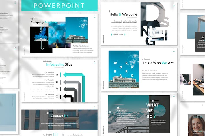 Thumbnail for Serdana - Business Powerpoint Template