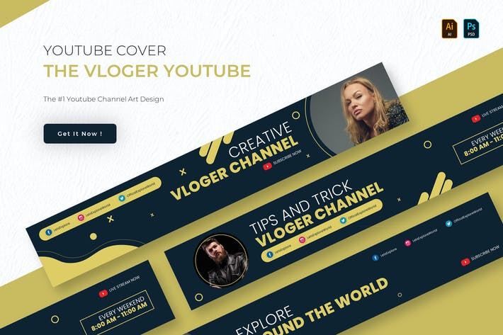 The Vloger Youtube | Youtube Cover
