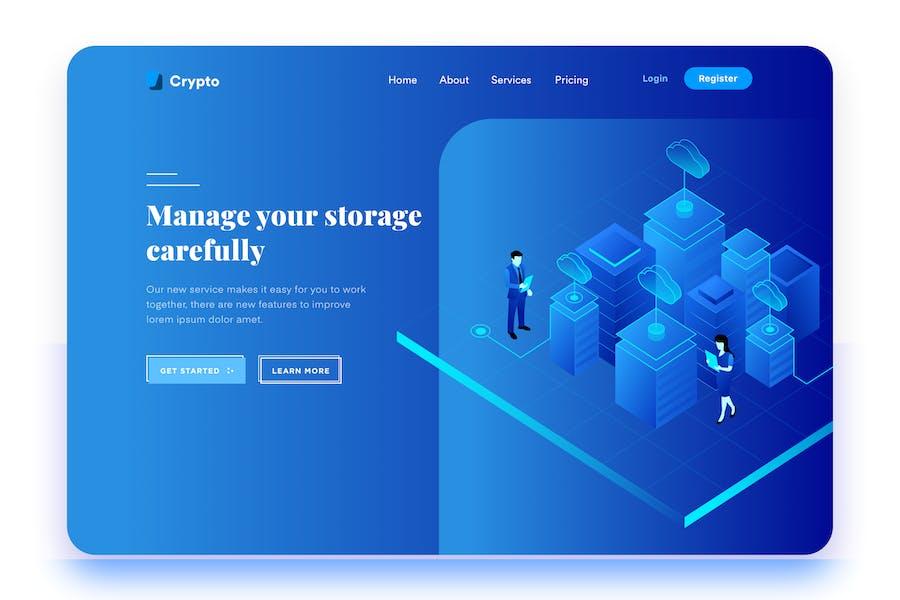 Data Storage Management Desktop Header