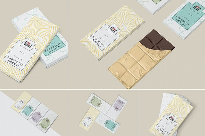 Thumbnail for 5 Cool Chocolate Bar Mockups