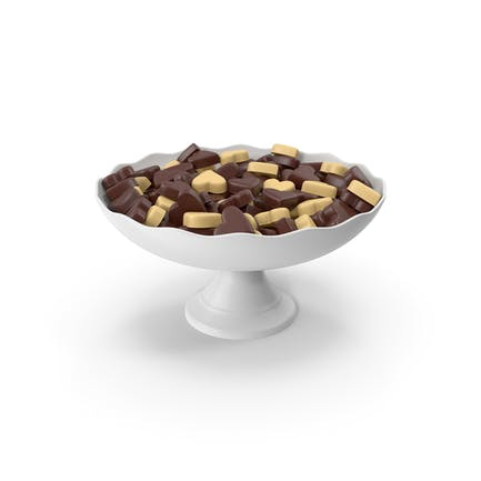 Chocolate Candy in Vase