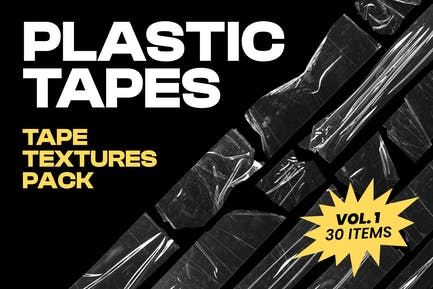 Plastic Tapes Vol.1 - 30 Textures Pack