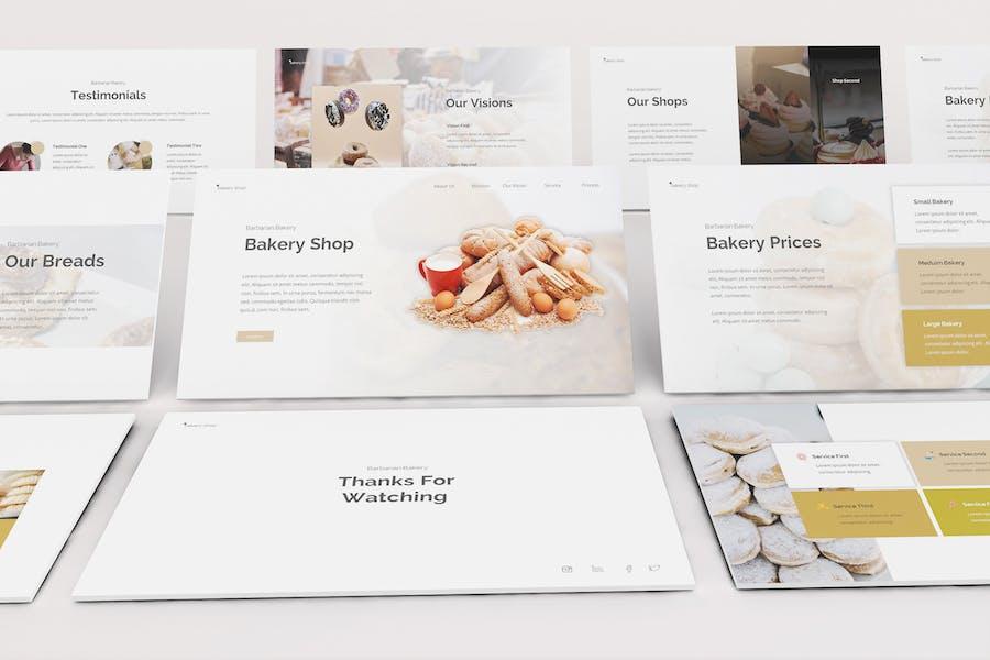 Bakery Google Slides Template