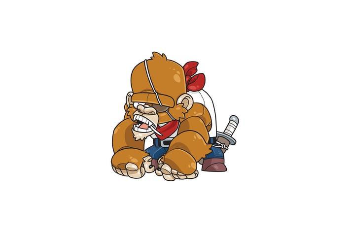 Pirate Kong - Charakter RG