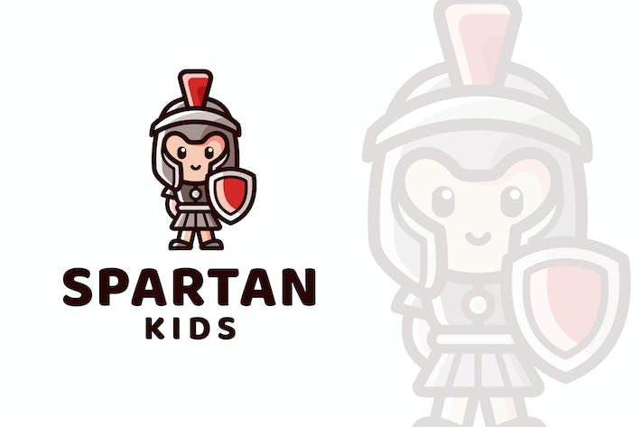 Thumbnail for Spartan Kids Logo Template