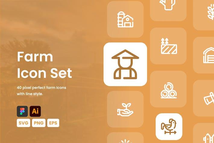 Farm-Icon-Set