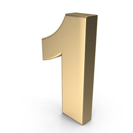 Number 1 Gold