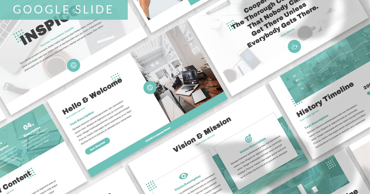 Download Inspico - Business Google Slide Template by designesto