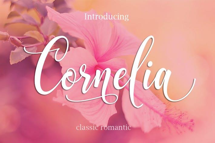 Thumbnail for CORNELIA Modern Script