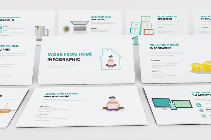 Thumbnail for Work From Home Infographic Keynote