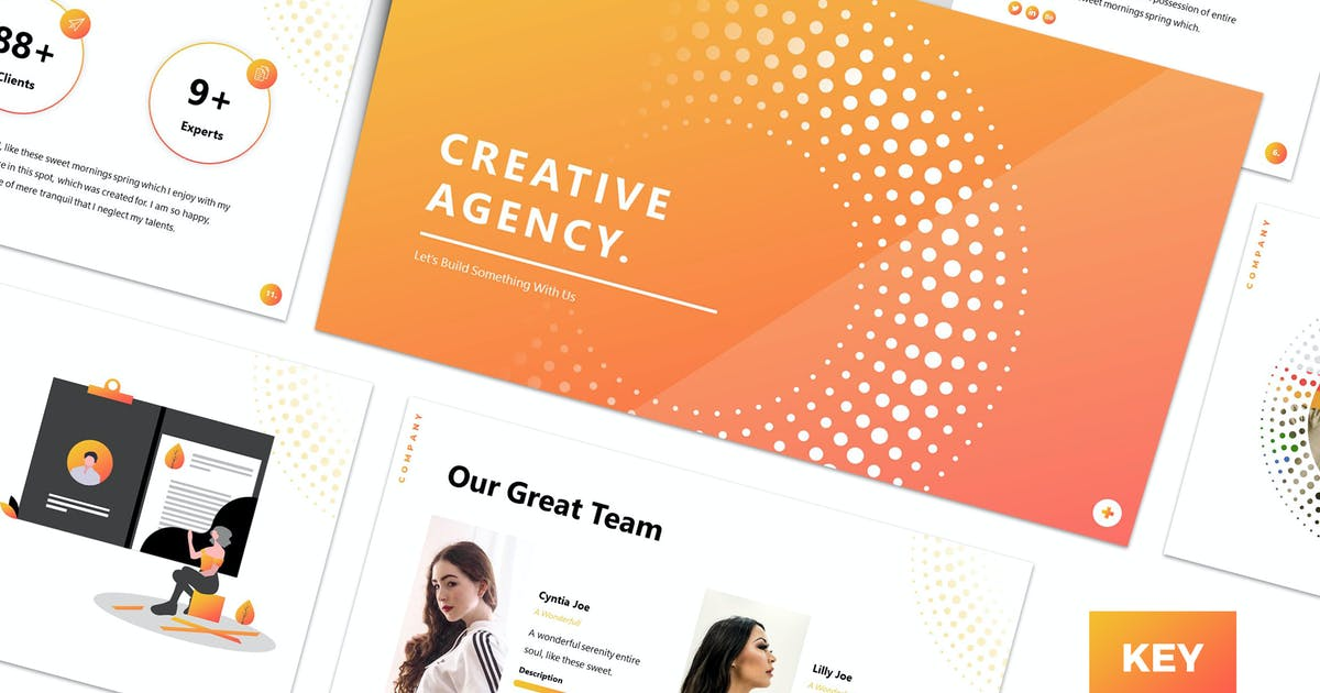 Download Valeo - Creative Keynote Template by CocoTemplates