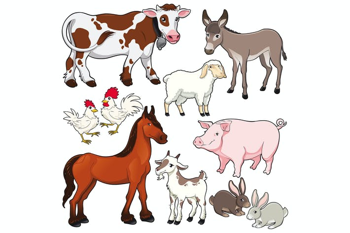 Cover Image For Farm animals