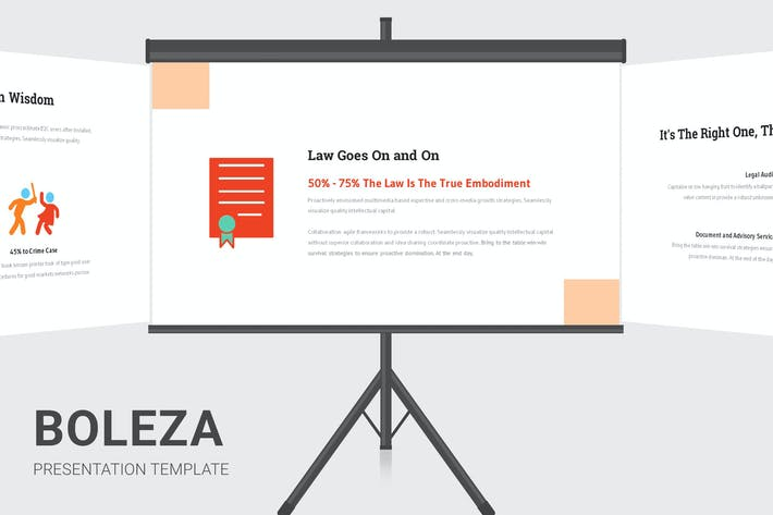 Thumbnail for Boleza - Law Enforcement Infographic Powerpoint