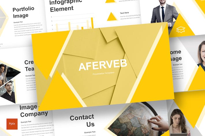 Thumbnail for Aferveb - Powerpoint Template