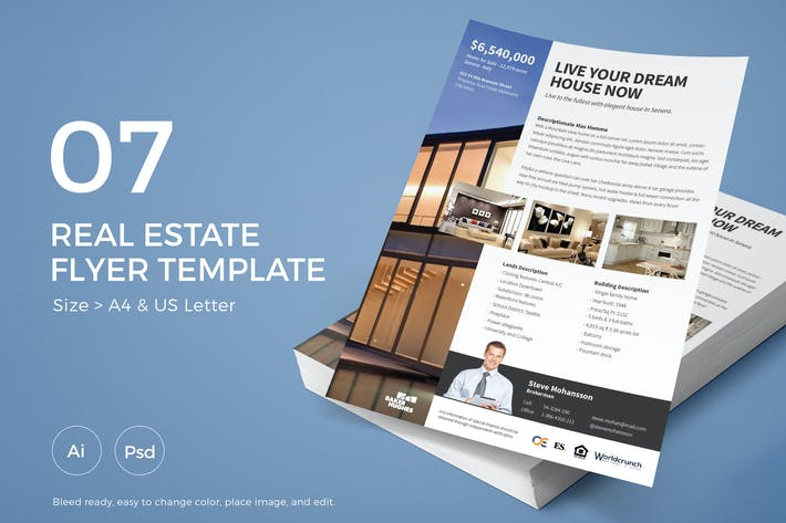 Thumbnail for Slidewerk - Real Estate Flyer 07