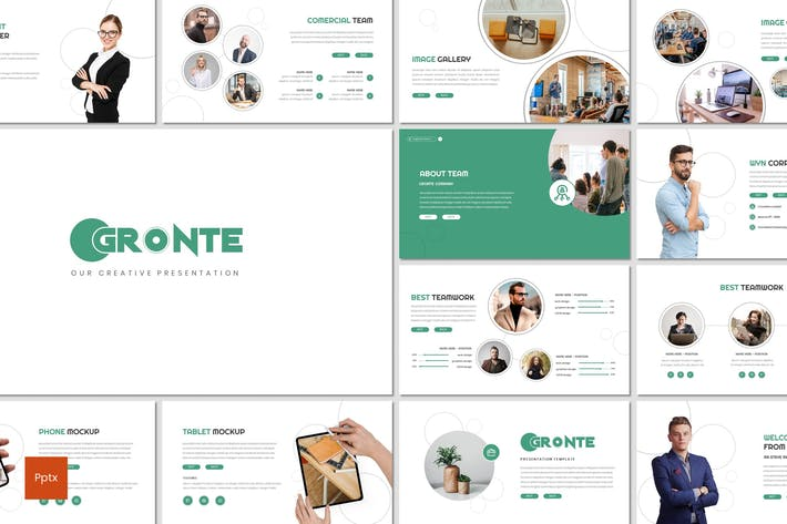 Thumbnail for Gronte - Business Powerpoint Template