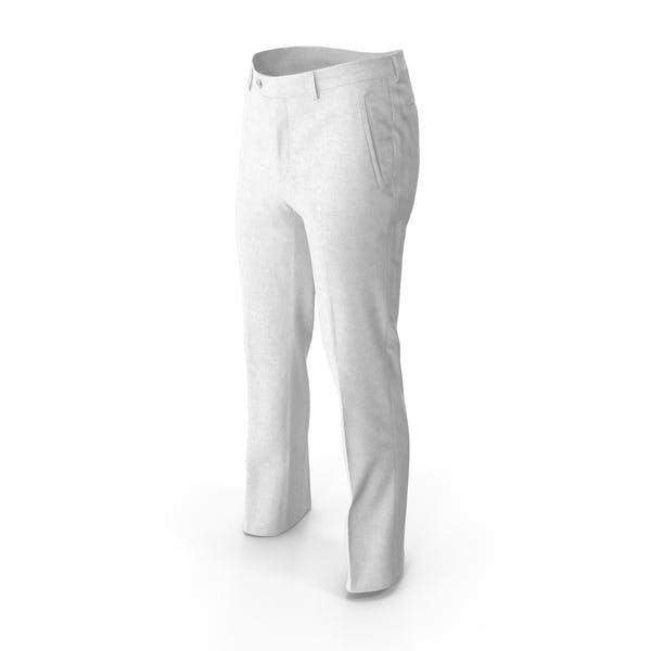 Мужские брюки Белый