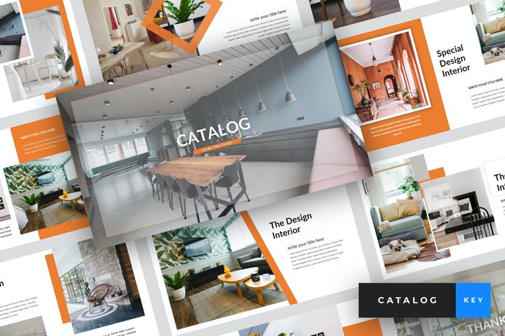 Cover Image For Catalog - Furniture Keynote Template
