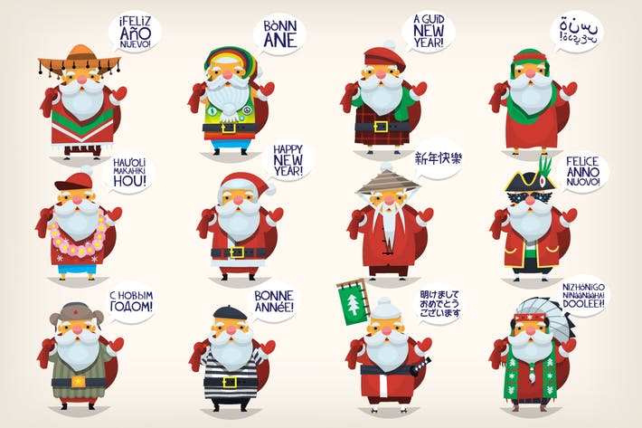 Thumbnail for Weihnachtsmänner der Welt