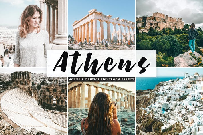 Thumbnail for Athens Mobile & Desktop Lightroom Presets