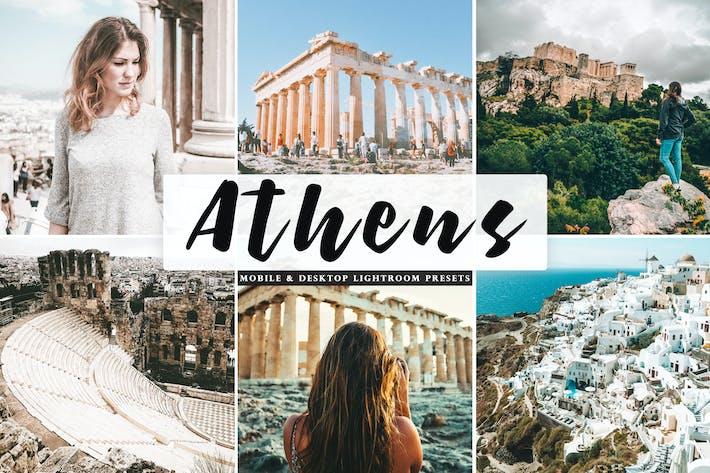 Thumbnail for Athens Mobile & Desktop Ajustes preestablecidos de Lightroom