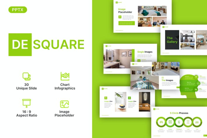 Desquare Real Estate Powerpoint Template