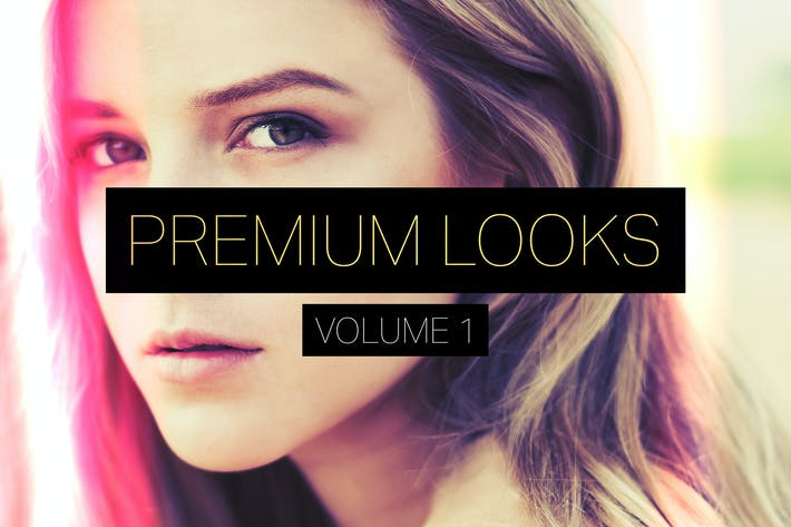 Thumbnail for Premium Looks Photoshop Actions (Vol. 1)