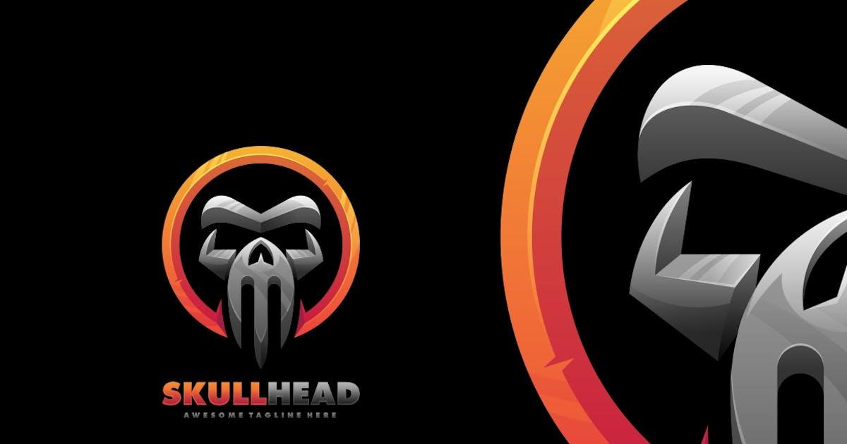 Download Skull Head Bold Logo Template by ivan_artnivora