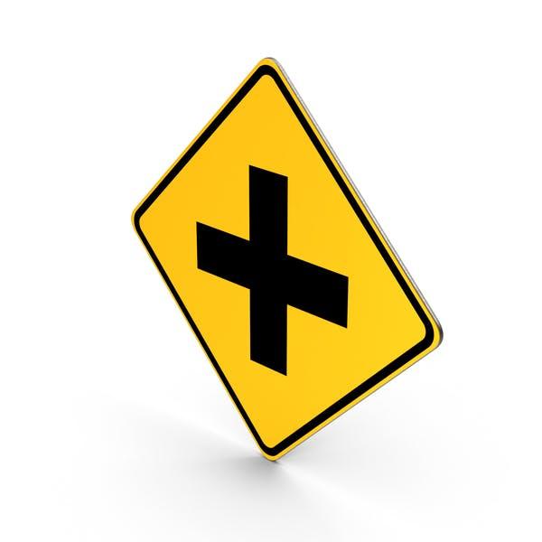 Cross Roads Sign