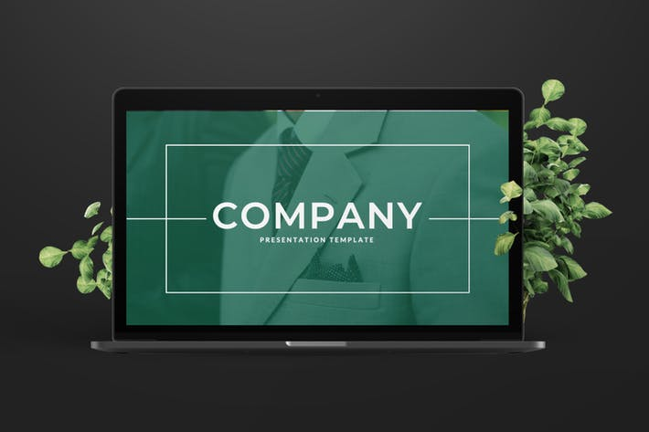 Thumbnail for Company Business Presentation Template