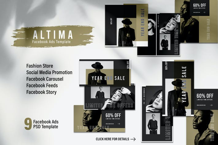 Thumbnail for ALTIMA Fashion Store Facebook Ads Web Banner