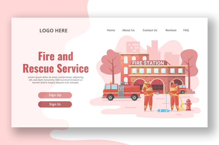 Thumbnail for Fire Station - Landing Page