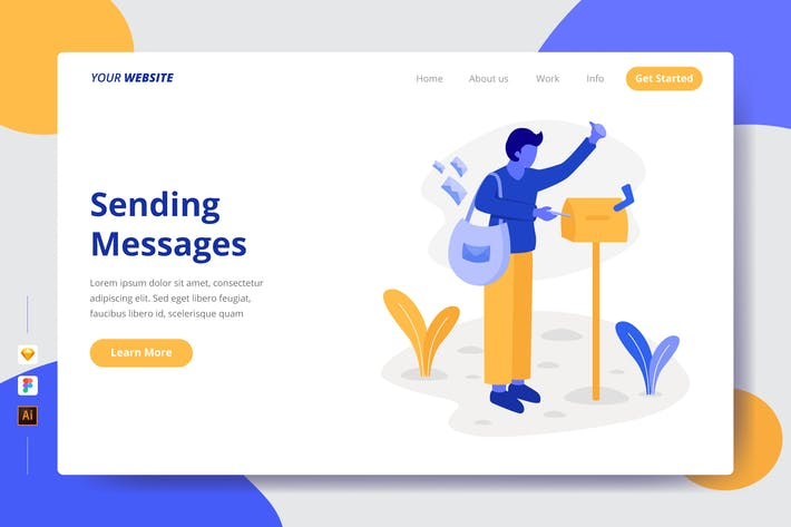 Thumbnail for Sending Messages - Landing Page