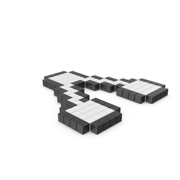 Пиксельный значок совместного доступа