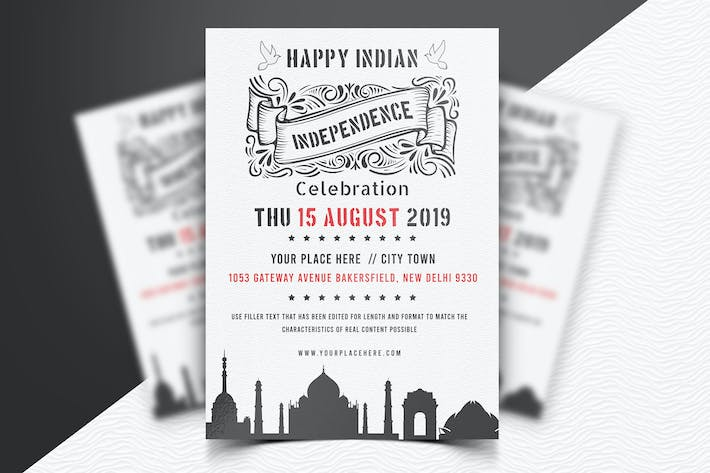 Thumbnail for Indian Independence Day Flyer-04