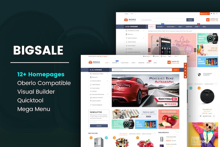 Thumbnail for BigSale - Unlimited Bootstrap 4 Shopify Theme