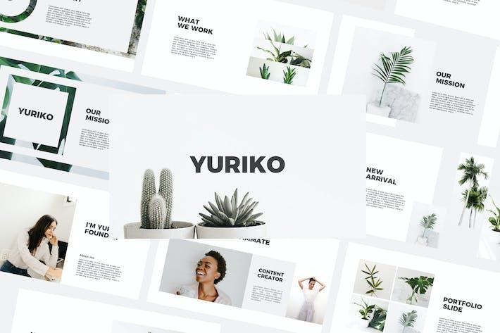 Thumbnail for Yuriko - Powerpoint Templates