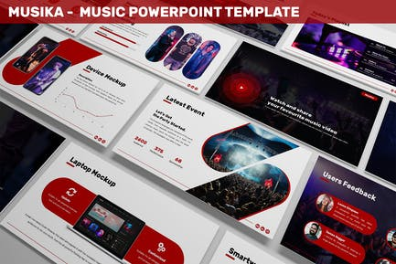 Musika - Music Powerpoint Template