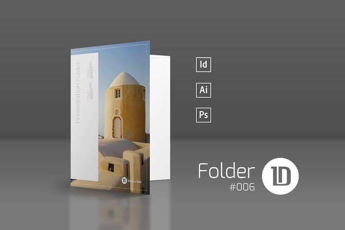 Thumbnail for Presentation Folder Template 006