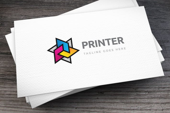Cover Image For Printer Logo Template