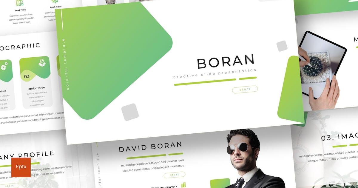 Download Boran - Powerpoint Template by inspirasign