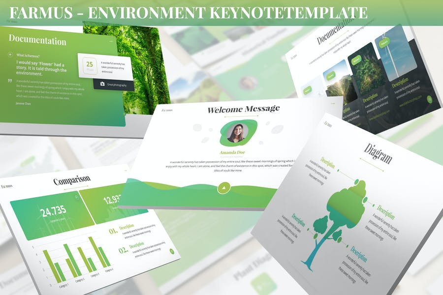 Farmus - Environment Keynote Template