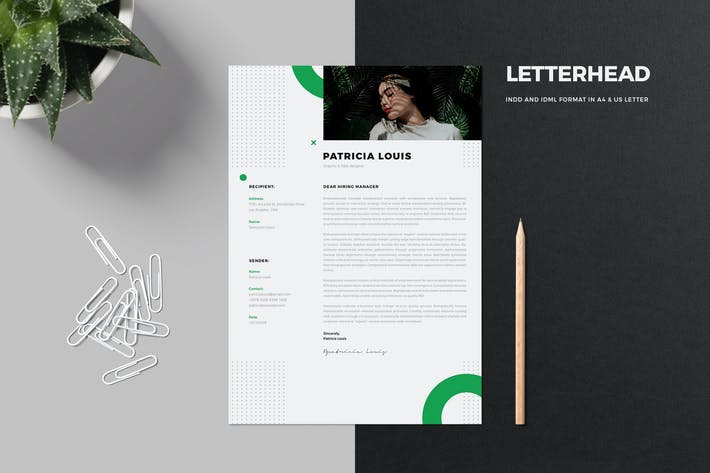 Thumbnail for Clean Letterhead