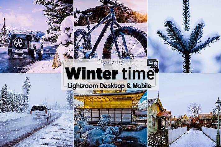 Thumbnail for Пресеты HDR Winter Time Lightroom для мобильных и настольных ПК