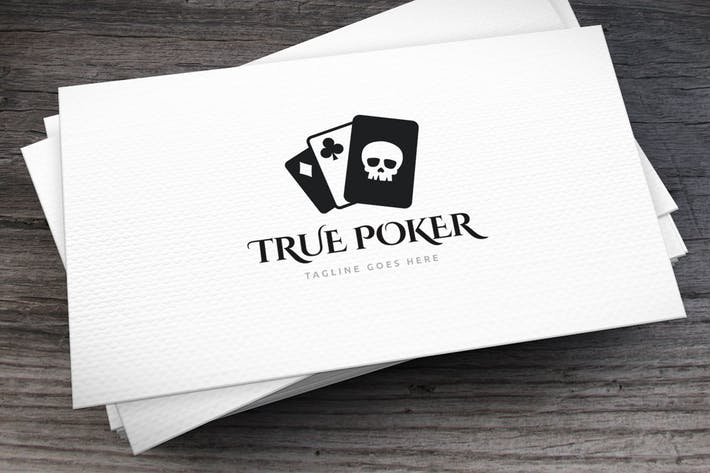 Thumbnail for True_Poker_Logo_Template