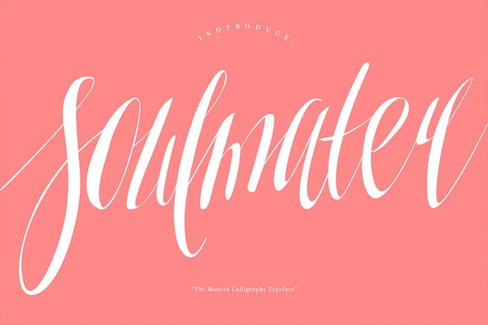 Thumbnail for Soulmater Typeface