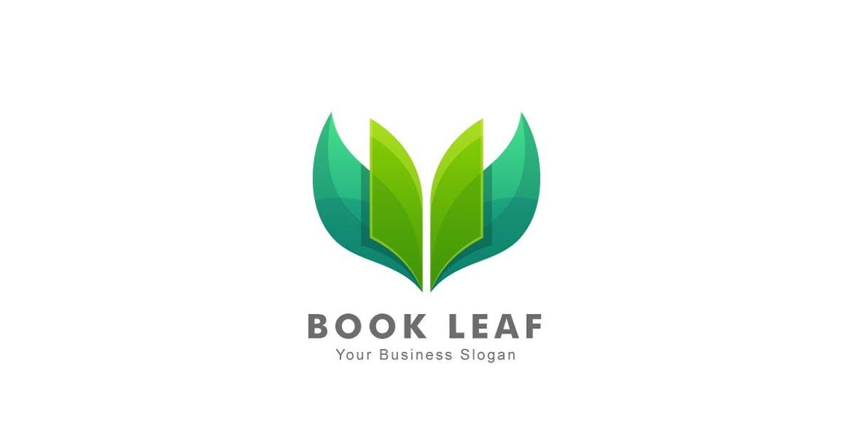 Download Leaf and Book Colorful Logo by ivan_artnivora